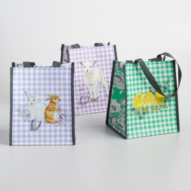 Easter Tote Set of 3