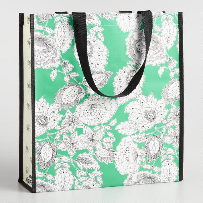 Philipa and Floral Tall Tote