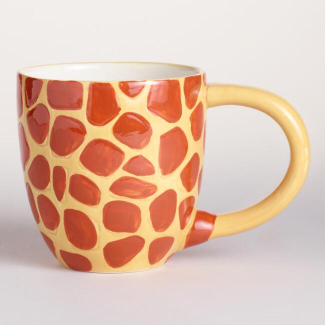 Kids Surprise Giraffe Mugs Set of 2