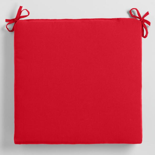 Red Outdoor  Chair  Cushion
