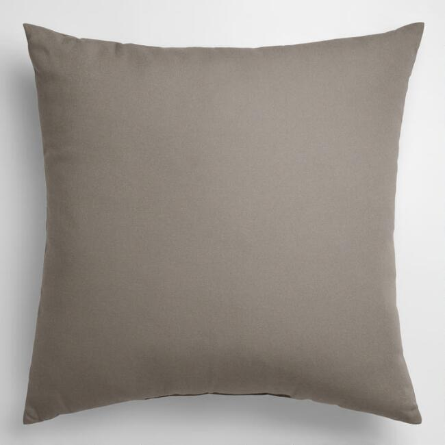 Gray OutdoorThrowPillow