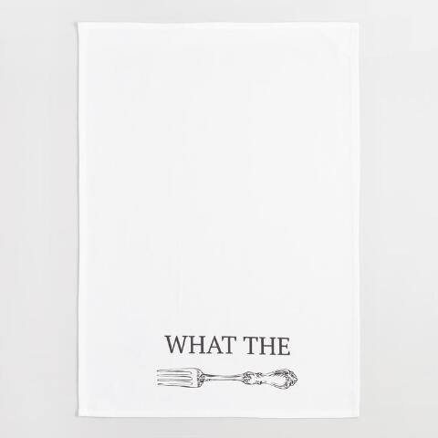 What the Fork Kitchen Towel