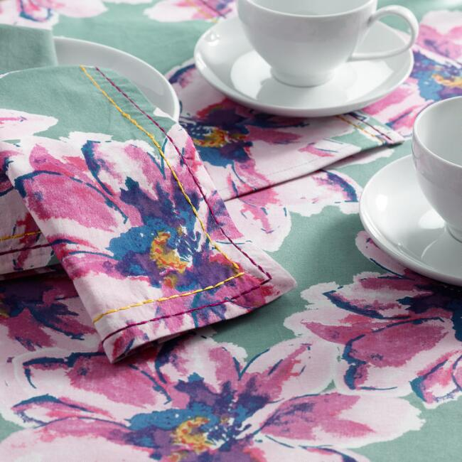 Floral Annabel Table Linen Collection