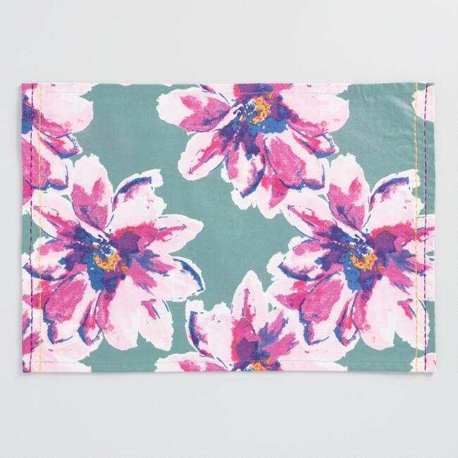 Floral Annabel Placemats Set of 4