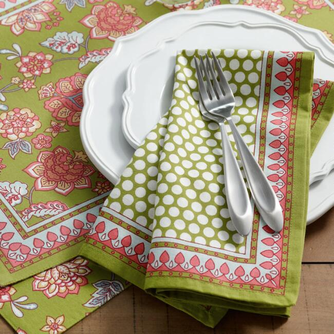 Floral Audrey Table Linen Collection