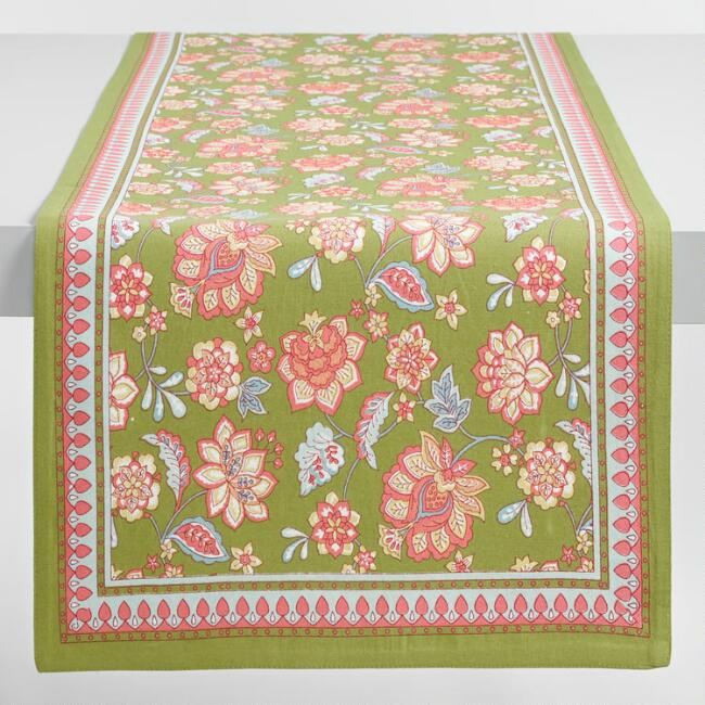 Floral Audrey Table Runner