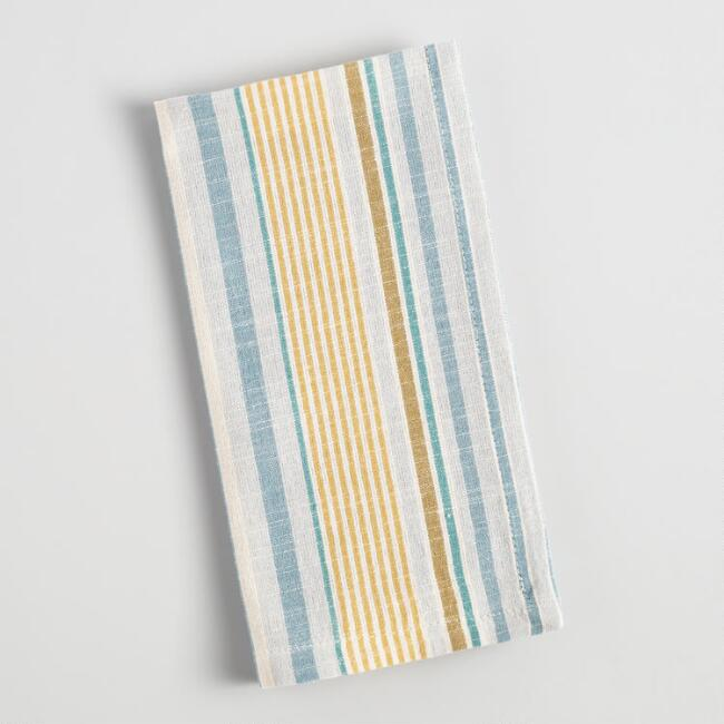 Cool Jardin Stripe Napkins Set of 4