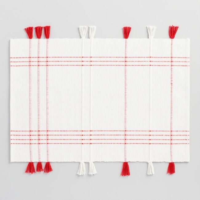 Woven Ziva Placemats Set of 4