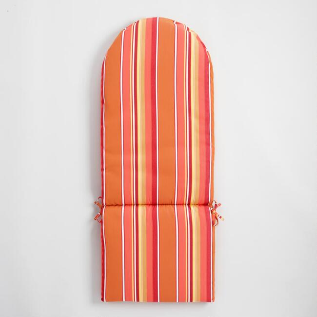 Sunbrella Mango Dolce Stripe Adirondack Chair Cushion