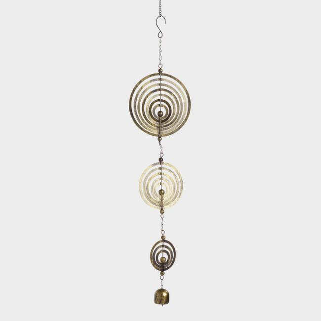 Kinetic Circles Hanging Decor