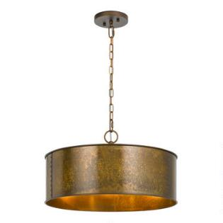 Gold Patina 3 Light Winta Pendant