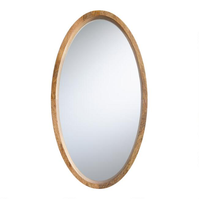 Oval Evan Mirror