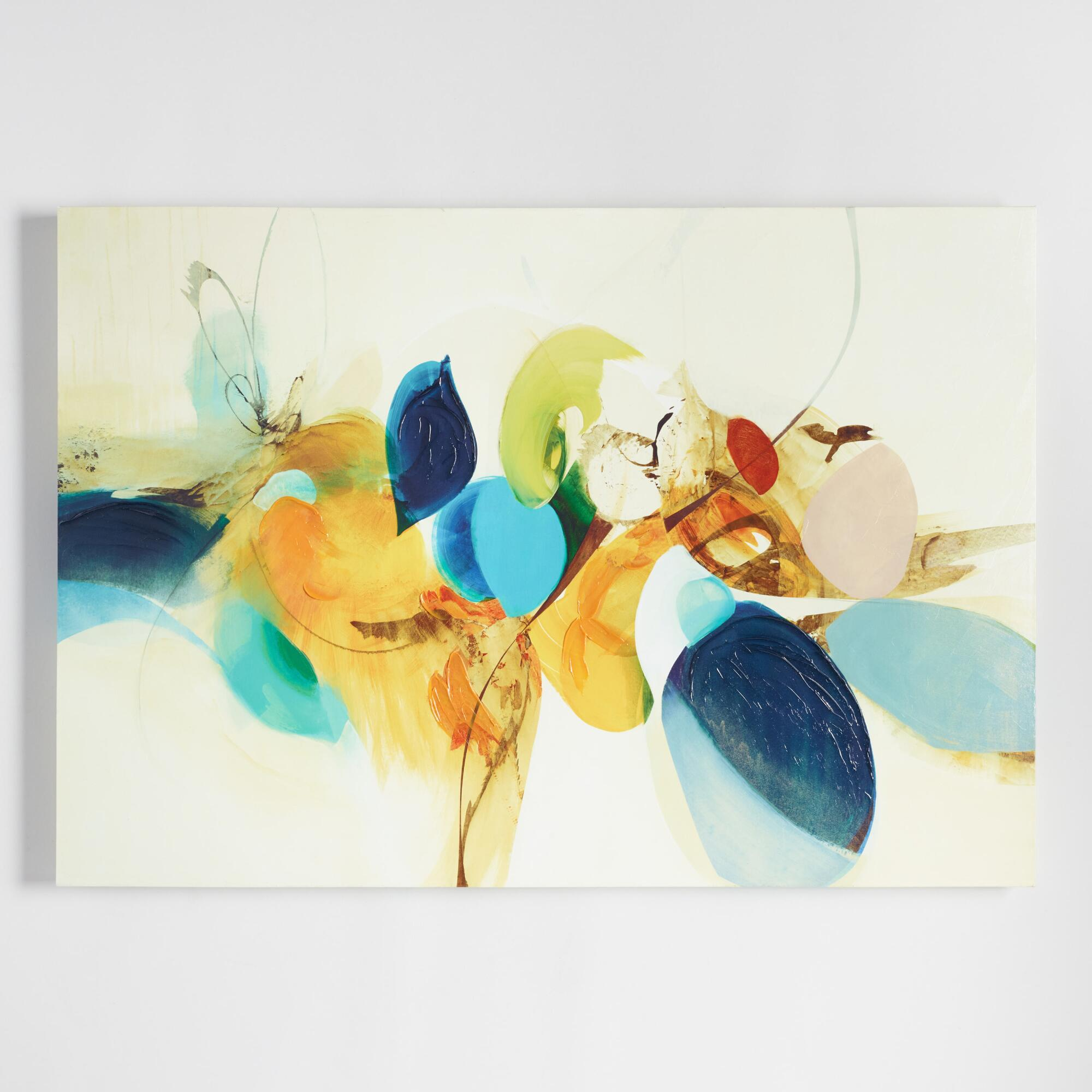 Candid Color by Sarah Stockstill: Multi - Canvas - Large by World Market