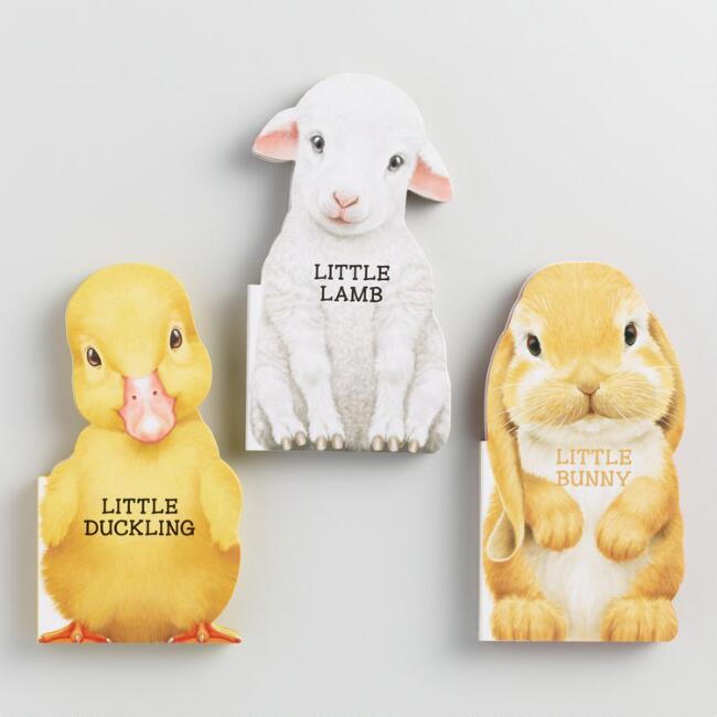 Lamb, Duck and Bunny Board Books Set of 3