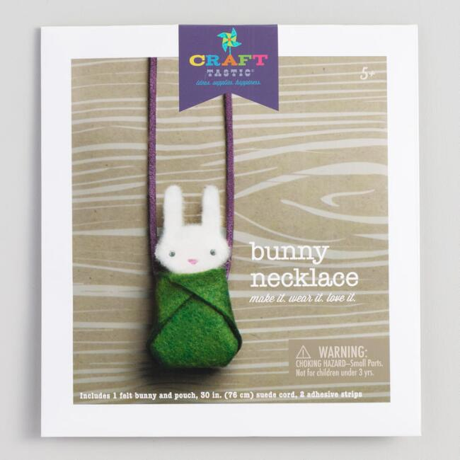 Bunny Necklace Crafting Kit