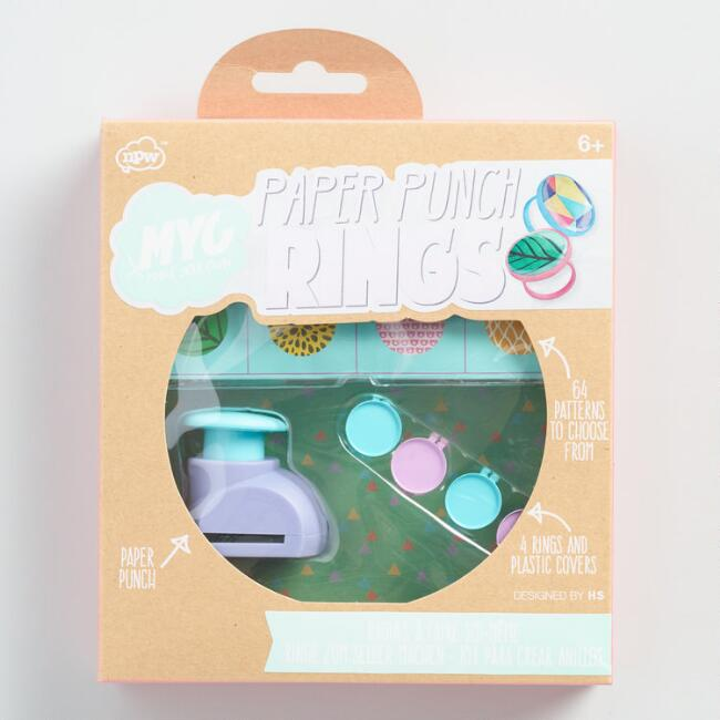 Paper Punch Rings