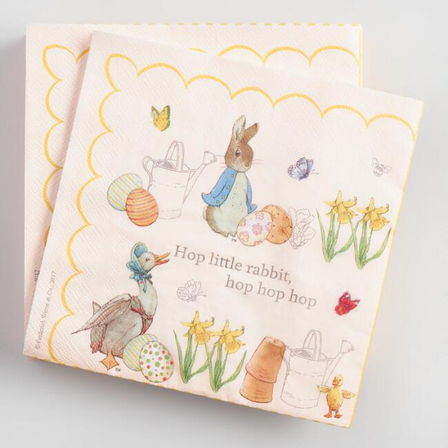 Peter Rabbit Lunch Napkins Set of 2