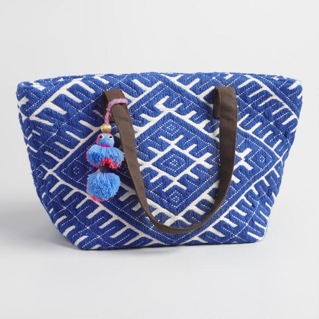Blue Diamond Tote