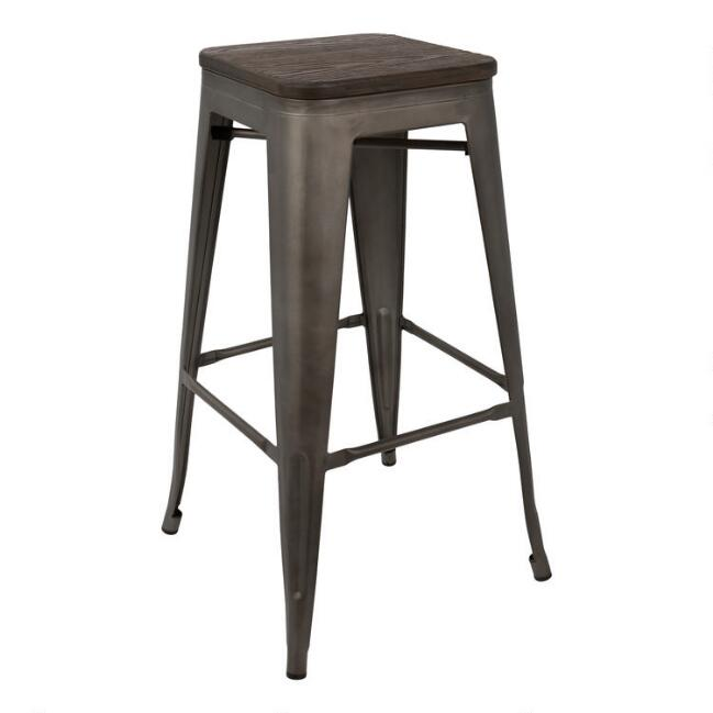 Espresso Arwen Barstools Set of 2