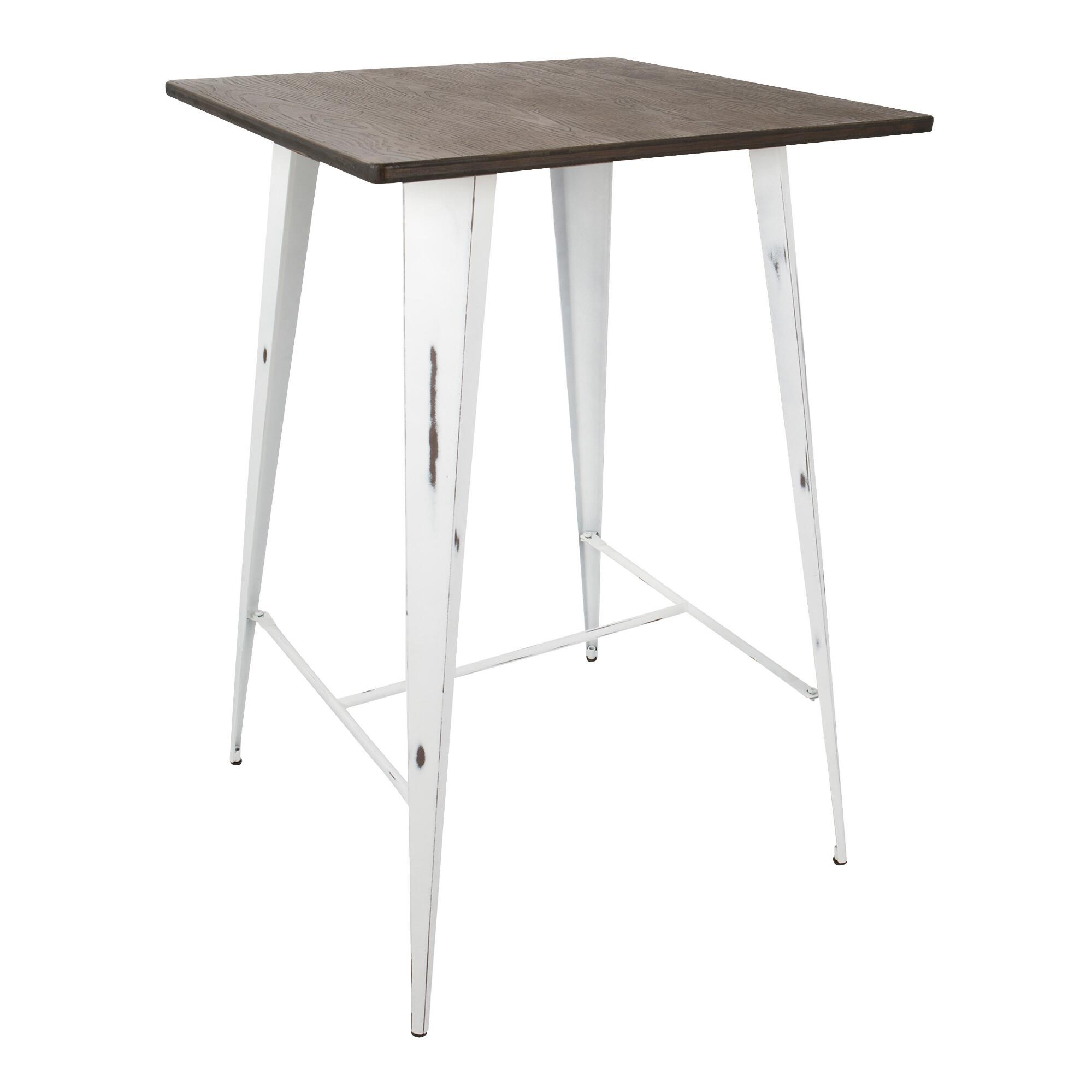 White Ridgeby Pub Table - Small by World Market