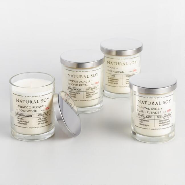 Filled Soy Candle Collection