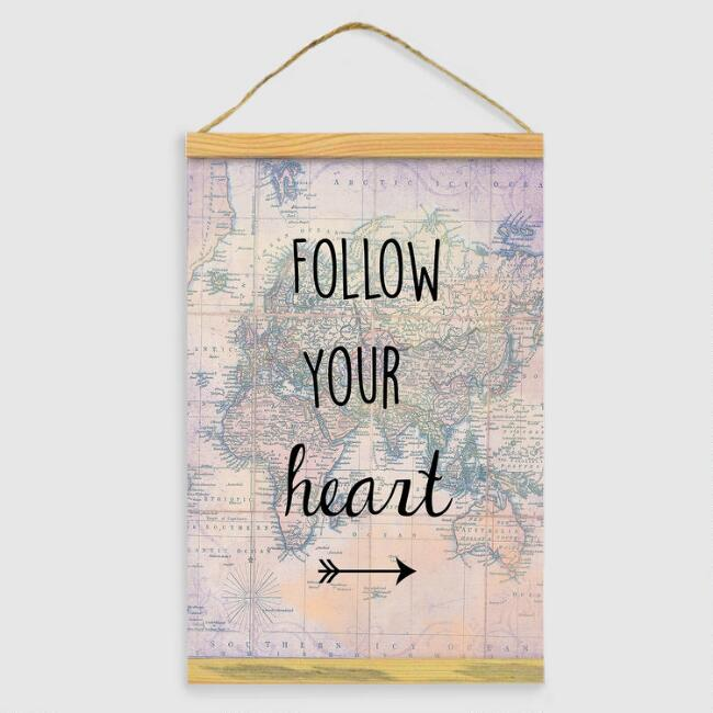 Follow Your Heart Tapestry