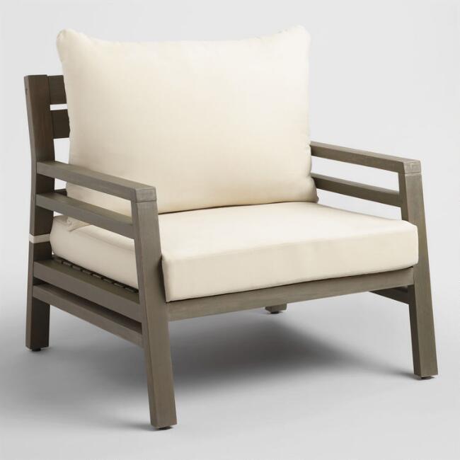 Gray San Sebastian Outdoor Occasional Chair