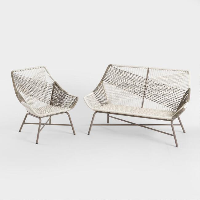 Gray All Weather Andalusia Outdoor Seating Collection
