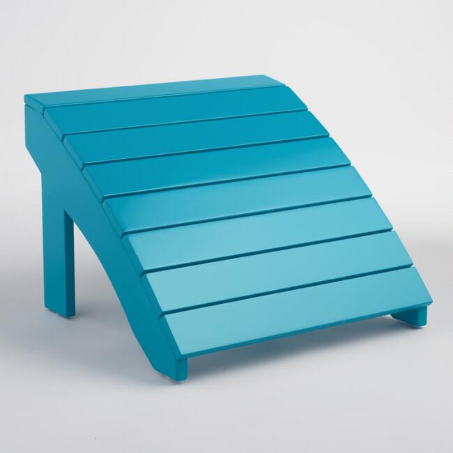 Surf Blue Adirondack Stool