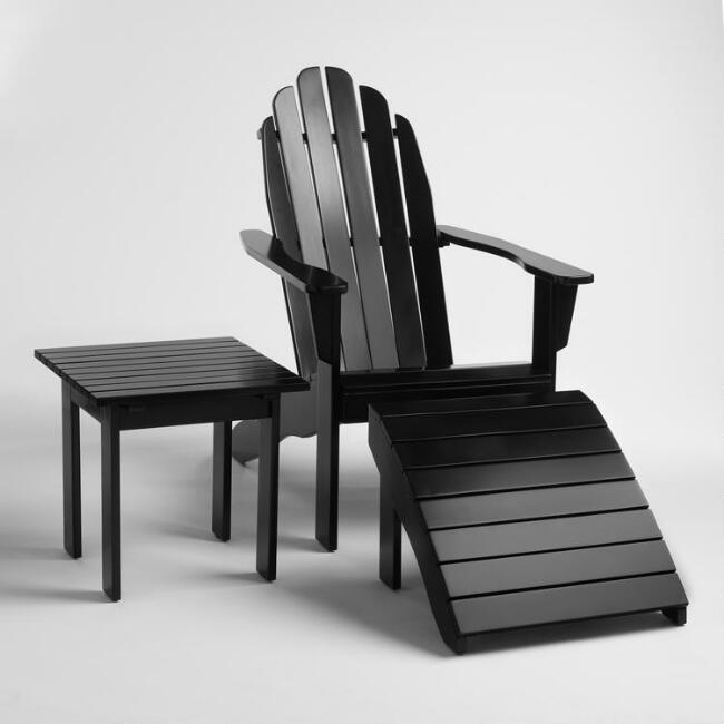 Black Adirondack Collection