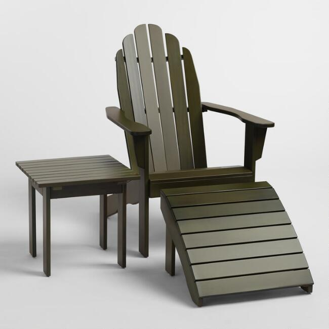 Olive Green Adirondack Collection