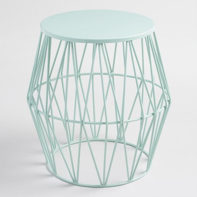 Surf Spray Octavia Faceted Outdoor Stool