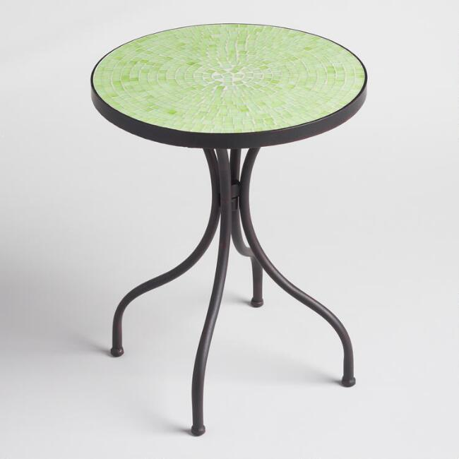 Light Green Cadiz Accent Table