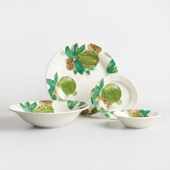 Jungle Fruit Dinnerware Collection