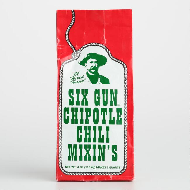 Six Gun Chipotle Chili Mixin's