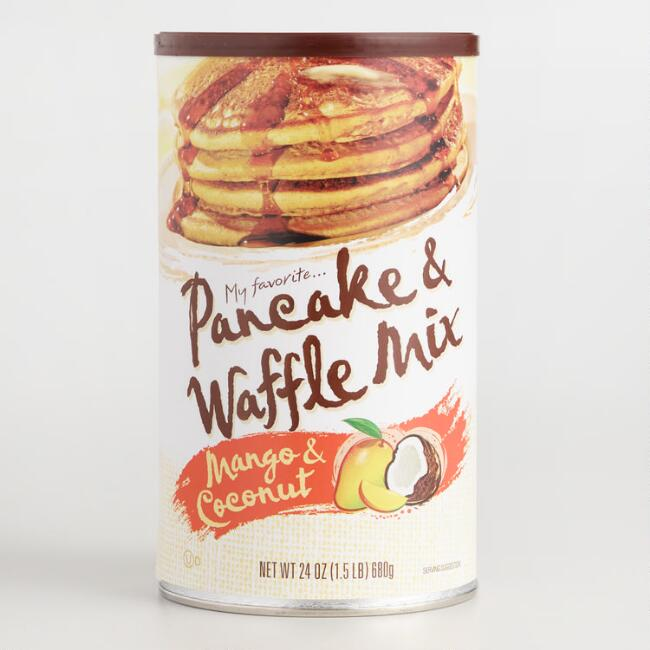 My Favorite Mango Coconut Pancake Mix 24 Ounce