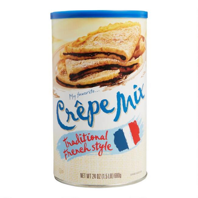 My Favorite Traditional French Crepe Mix