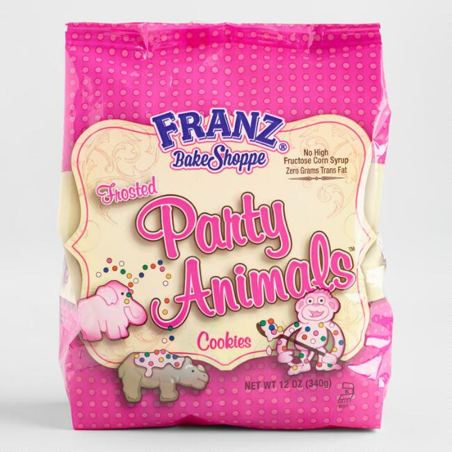 Franz Bake Shoppe Frosted Party Animals Cookies
