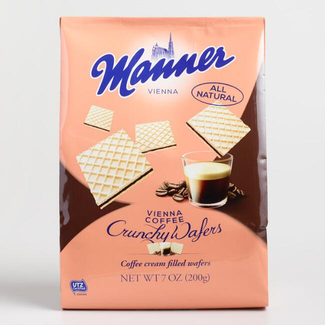 Manner Viennese Coffee Wafers