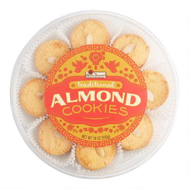 Asian Passage Traditional Almond Cookies Tub