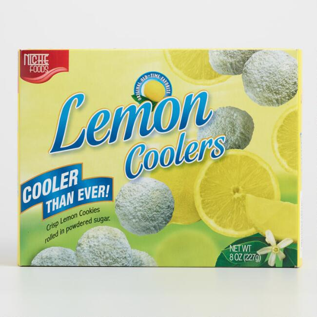 Niche Foods Lemon Cooler Cookies