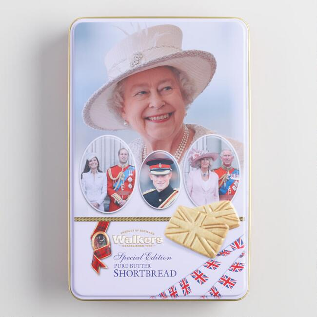 Walkers Shortbread Cookie Royal Family Tin