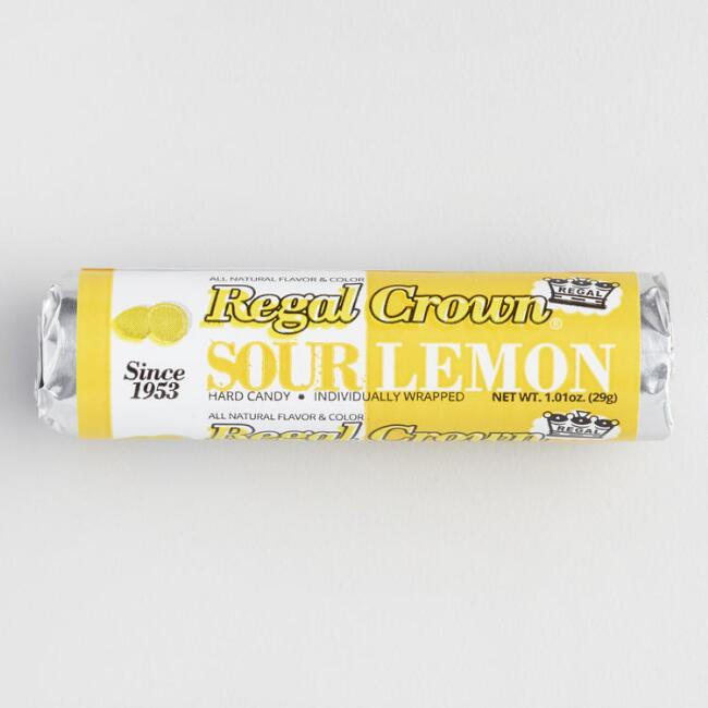 Reed's Sour Lemon Hard Candy Rolls
