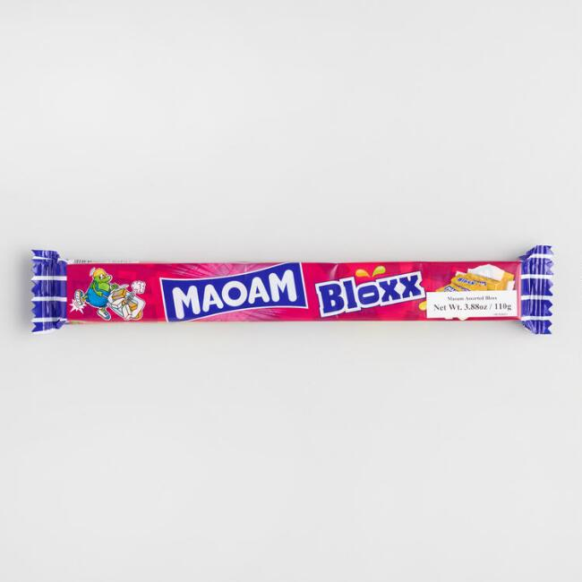 Maoam Sour Fruit Flavored Candy Bloxx
