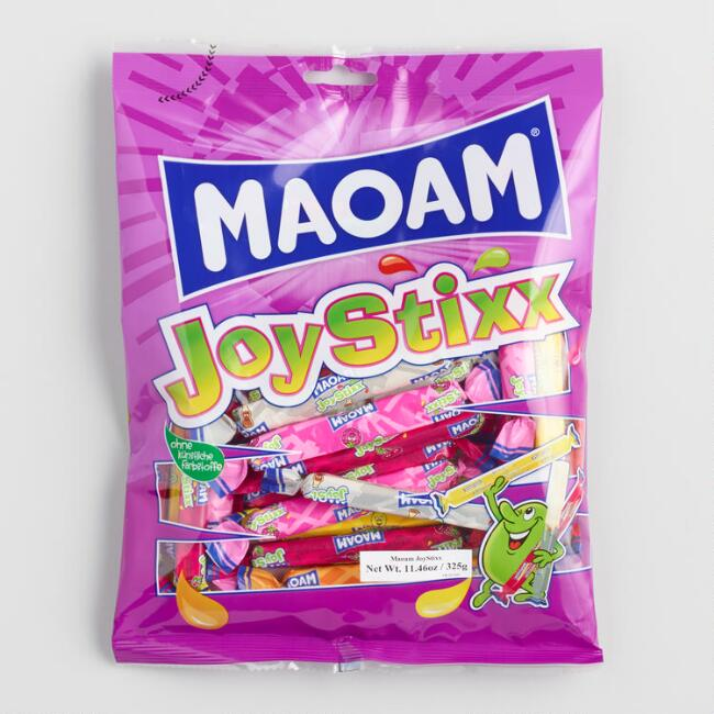Maoam Fruit Flavored Candy Joystixx