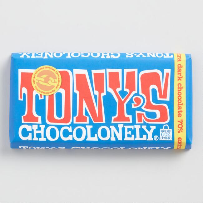 Tony's Chocolonely Dark Chocolate Bar