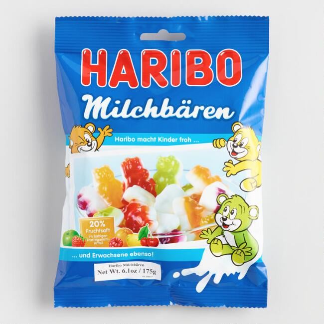 Haribo Milk Bears Gummy Candy