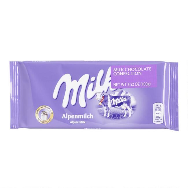 Milka Alpine Milk Chocolate Bar