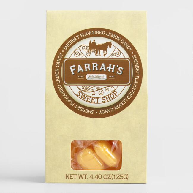 Farrah's of Harrogate Sherbet Lemon Candy Box