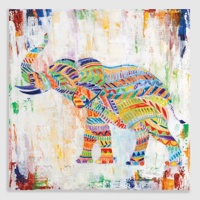 Magical Elephant by Janet Tava